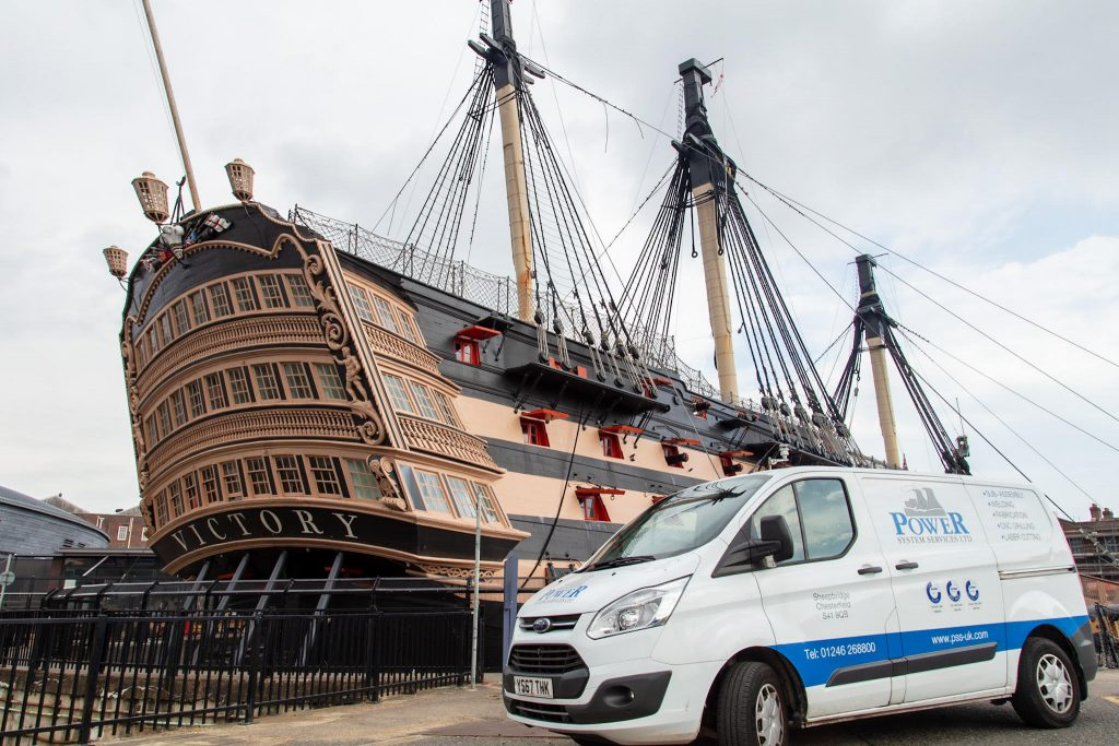 HMS VICTORY DRY DOCK